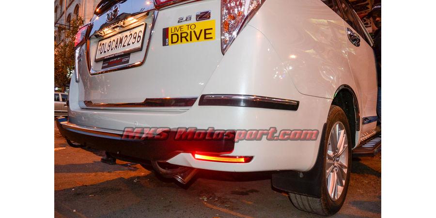 MXSTL85 Toyota Innova Crysta Rear Bumper Reflector DRL LED Tail Lights