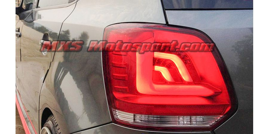 MXSTL86 Led Tail Lights Volkswagen Polo 'Smoked Black'