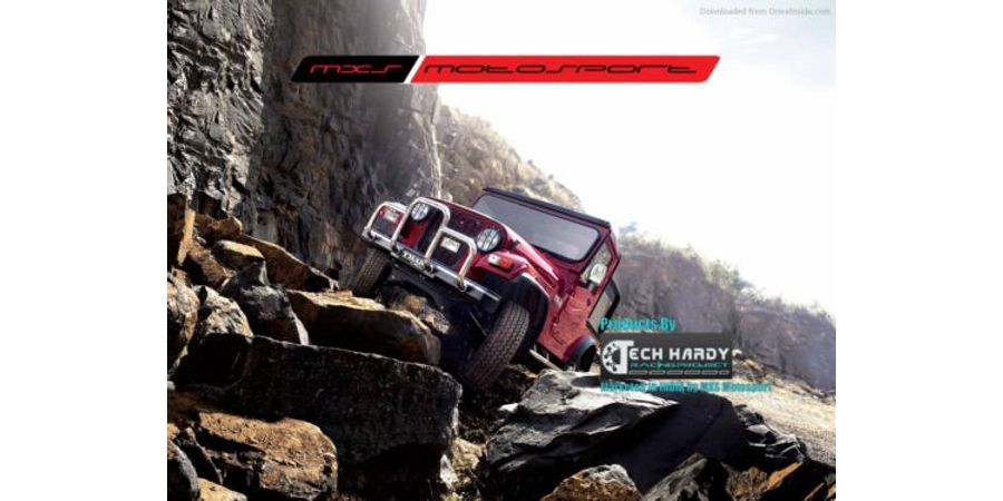 MXS- High end HID kit 35W with true AC Blaster for Mahindra Thar