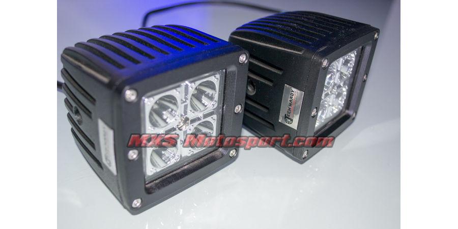 "MXSORL03 MXS Motosport High Performance Cree LED Flood Lamp Fog Lamp 3"" Bar for Off road"