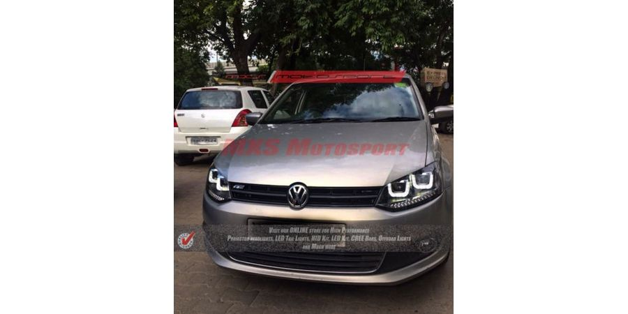 MXSHL36 Projector Headlights Volkswagen Vento BM Style Daytime Running light