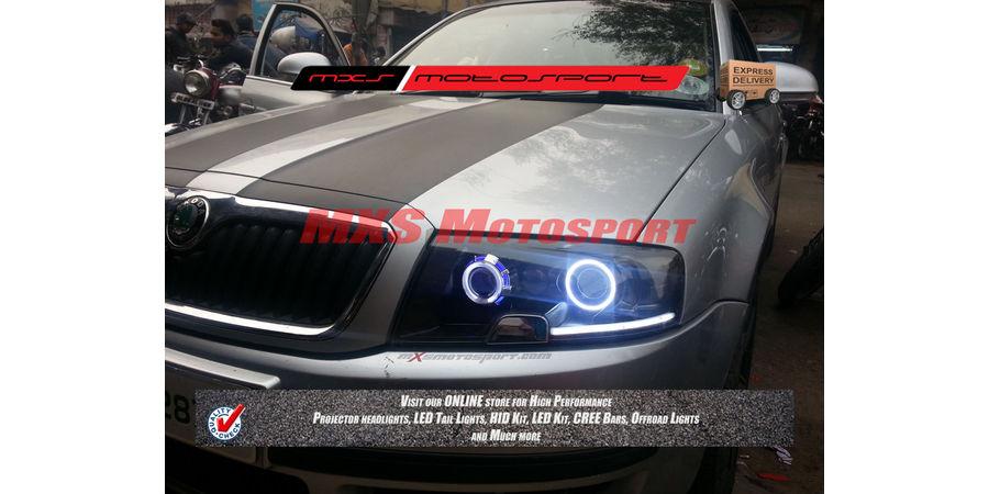 MXSHL237 Custom Projector Headlights Skoda Octavia