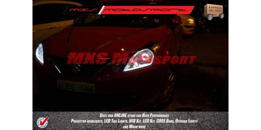 MXSHL151 Robitic Eye Projector Headlight With DRL Maruti Suzuki Baleno