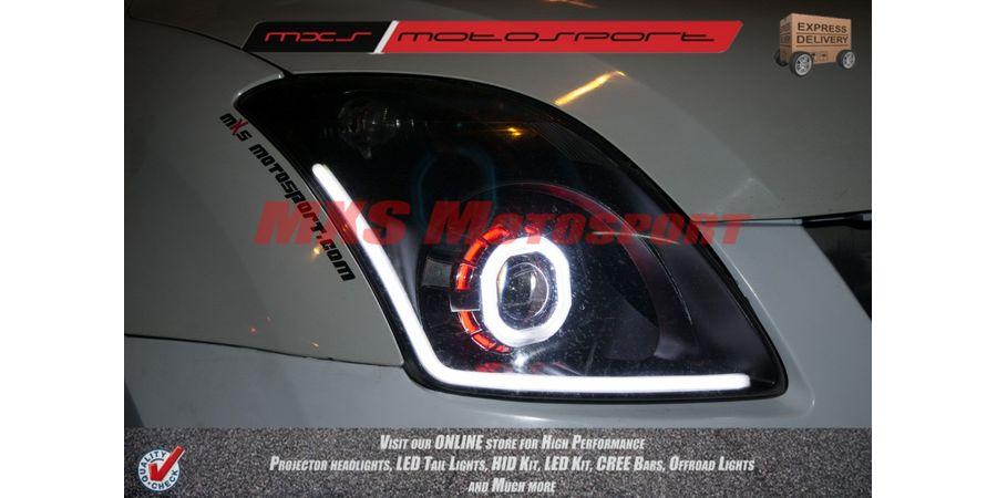 MXSHL56 Robotic Square Projector Headlight With DRL System Maruti Suzuki Swift