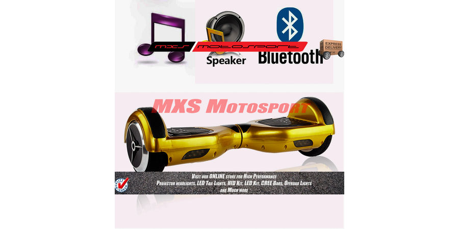 MXS2246 Tech Hardy Electric Self Balancing Hoverboard  6.5