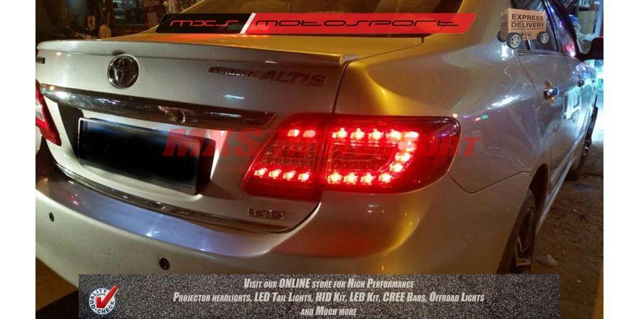 MXSTL09 LED Tail Light Toyota Corolla Altis