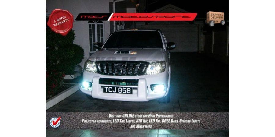 MXS Motosport Toyota Land Cruiser Prado Fog Lamp HID KIT with 6 Months* Warranty