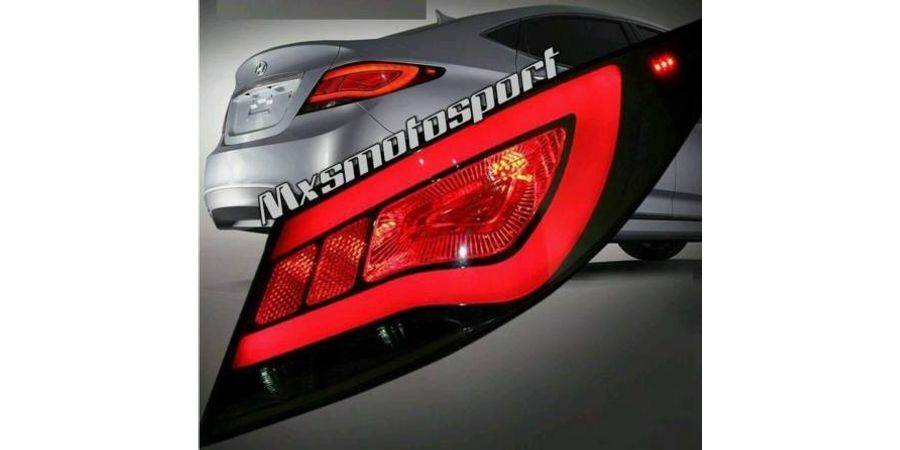 MXSTL24 LED Tail Lights Hyundai Verna Fluidic