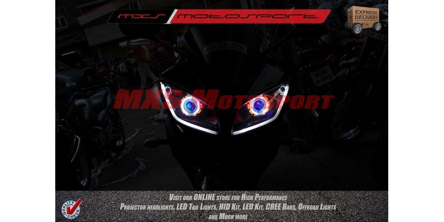 MXSHL144 Yamaha R15 Headlights Bi Xenon projector, HID & Day running light