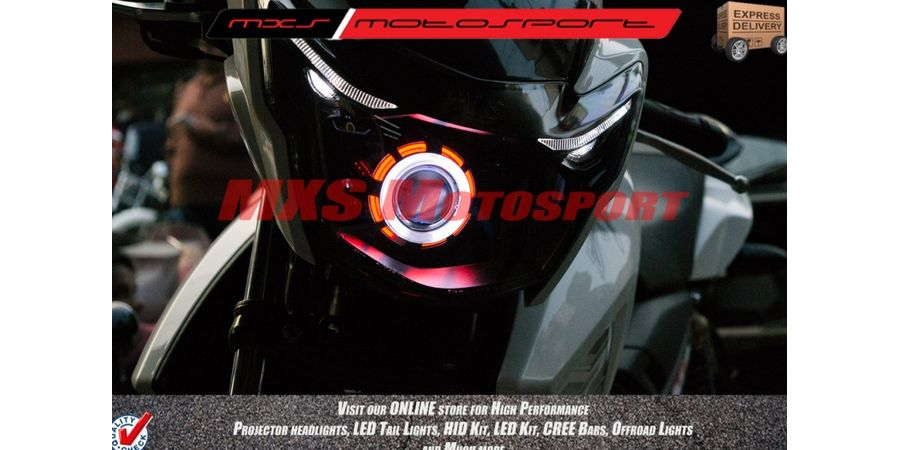 MXSHL170 Robotic Eye projector Headlight Tvs Apache rtr new version