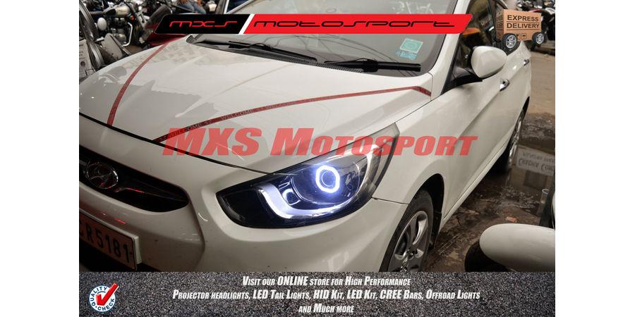 MXSHL222 Projector Headlights Hyundai Verna Fluidic