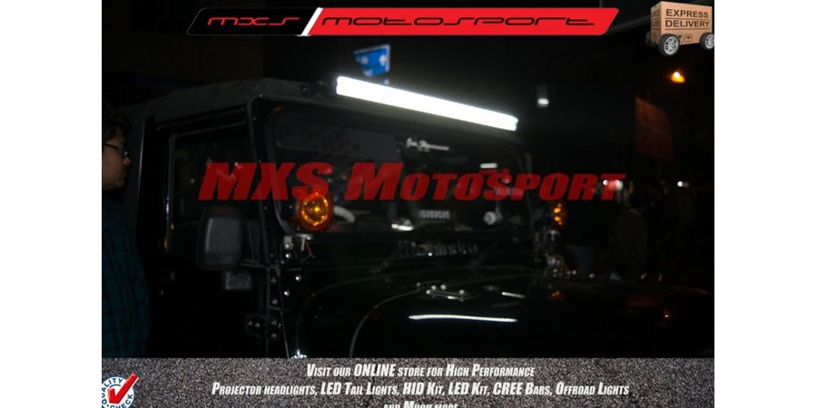 "MXSORL08 High Performance Cree LED Flood Lamp 42"" Bar for Off road"