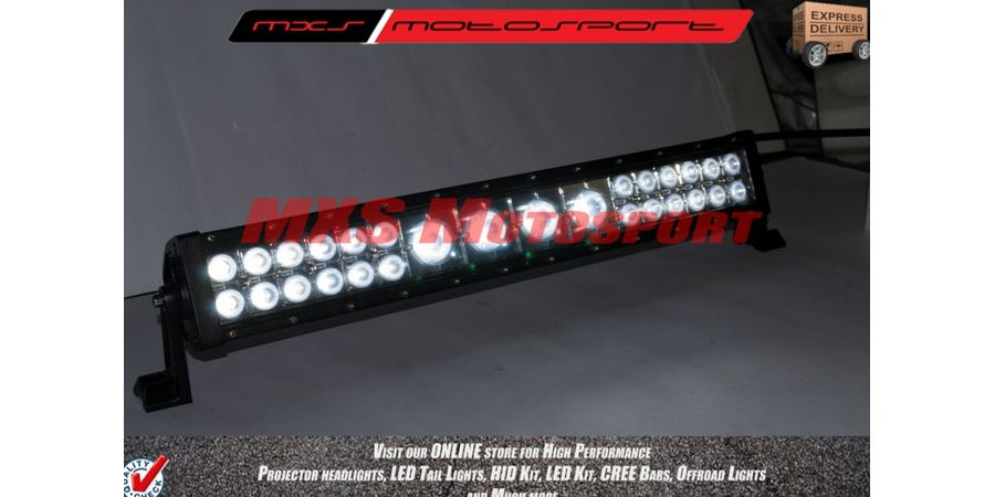 "MXSORL27 High Performance Creebar LED Flood, Spot Lamp 21"" Bar for Offroad 120W Combo"