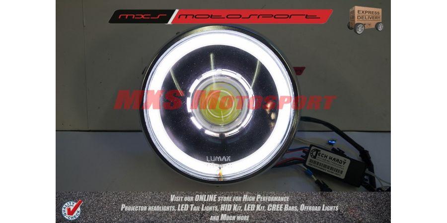 MXSHL115 Royal Enfield Bullet STANDARD 350-500 Headlight Projector-Day Running Light