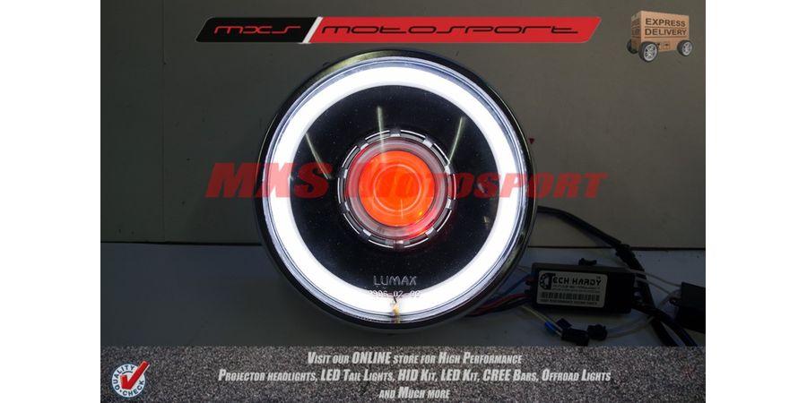 MXSHL119 Royal Enfield Bullet Electra 350 Headlight Projector & Day Running Light