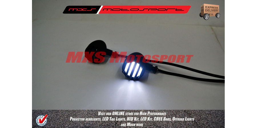 MXS2238 Chopper Turn Signal Indicators 'White'