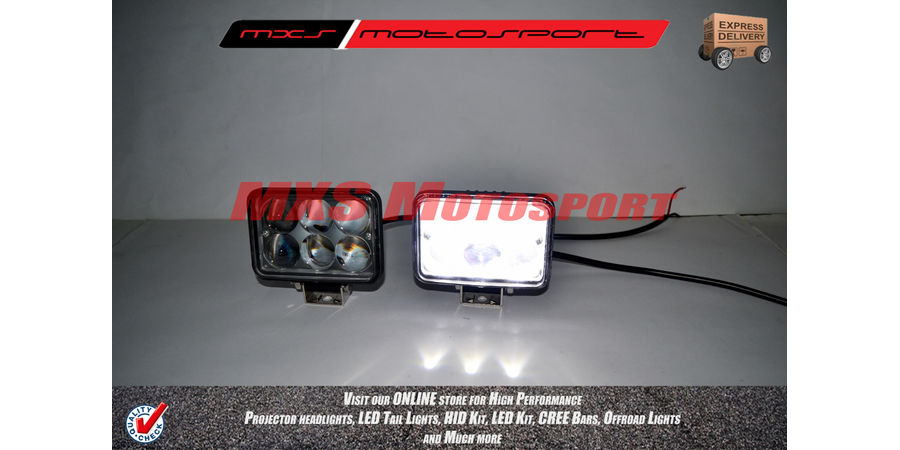 MXSORL43 LED Cree Bar 4D Off Road Lights