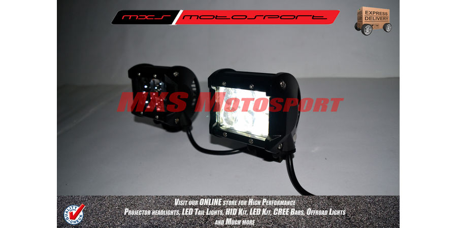 MXSORL44 Led Cree Bar 4D Off Road Lights
