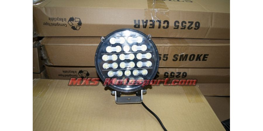 "MXSORL30 75W High Performance Cree LED Flood Lamp Fog Lamp 7"""