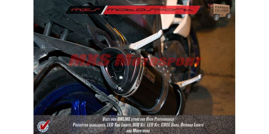 MXS2077 Tech Hardy Racing Exhaust Muffler Silencer Yamaha R15