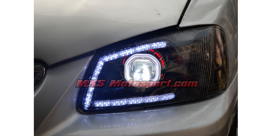 MXSHL382 Projector Headlights Hyundai Accent With Matrix Style