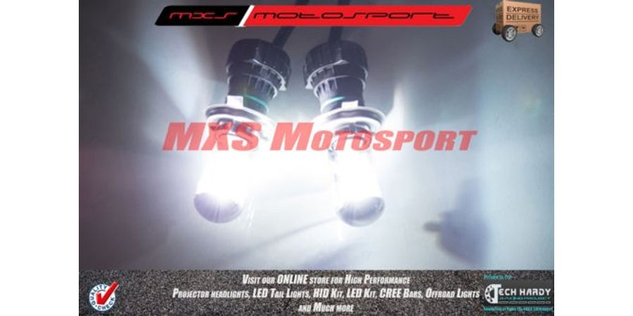 MXS-High END HID Kit With True Ac Turbo Ballast Stage 1 For Volkswagen Polo 2013