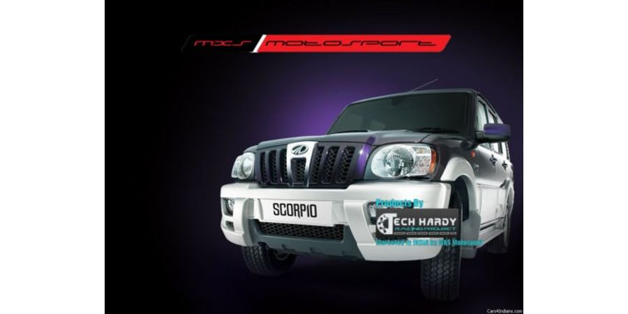 MXS- High end HID kit 75W with true AC Blaster for Mahindra Scorpio