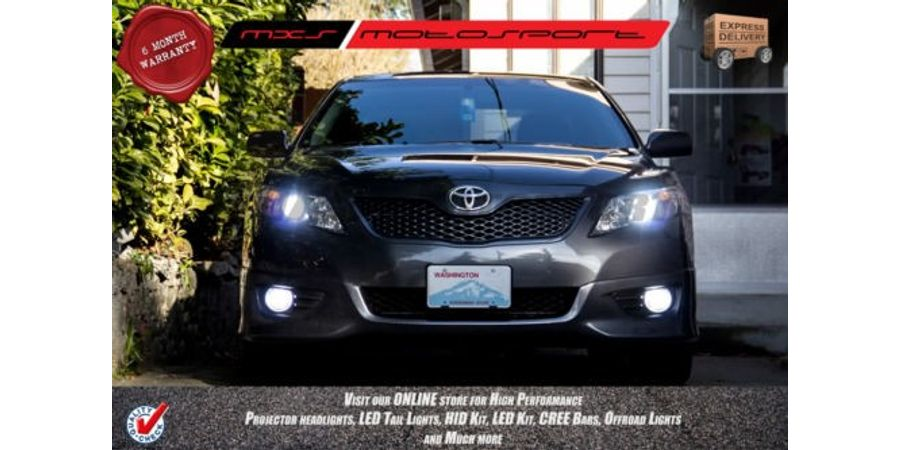 MXS Motosport Toyota Camry Fog Lamp HID KIT with 6 Months* Warranty