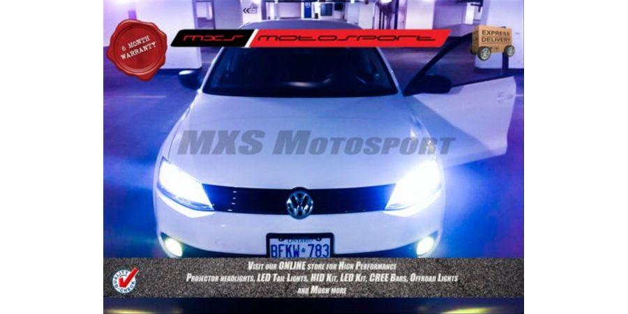 MXS Motosport Volkswagen Jetta XENON HID KIT Headlight High +Low +Fog Lamp Combo