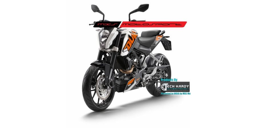 MXS- High end HID kit with true AC Blaster for KTM Duke 200