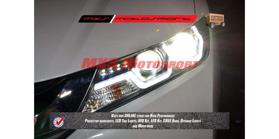 MXSHL37 Honda City i-Dtec New2014+ Projectors Headlights Day Running Light