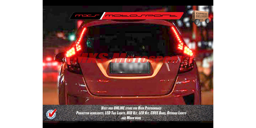 MXSTL62 Led Pillar Tail Light Honda Jazz 2014-16