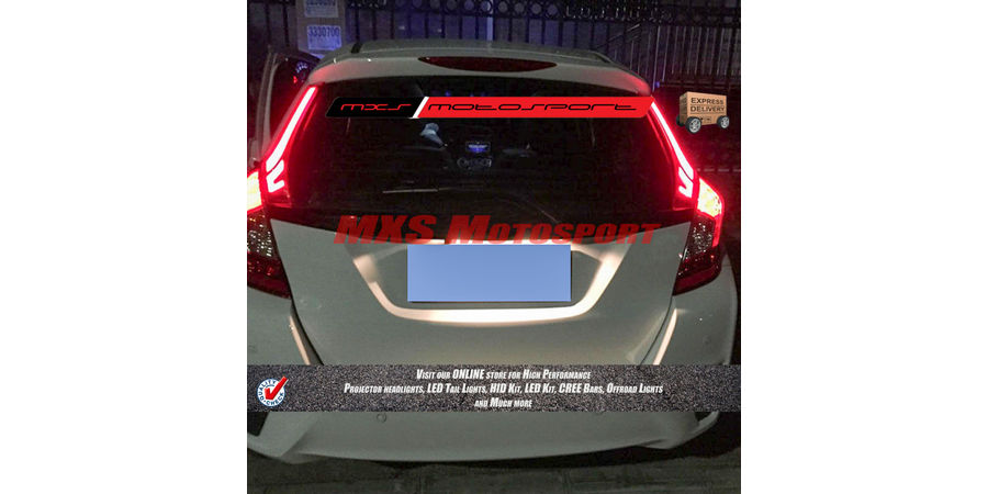 MXSTL63 Led Pillar Tail Light Honda Jazz 2014-16