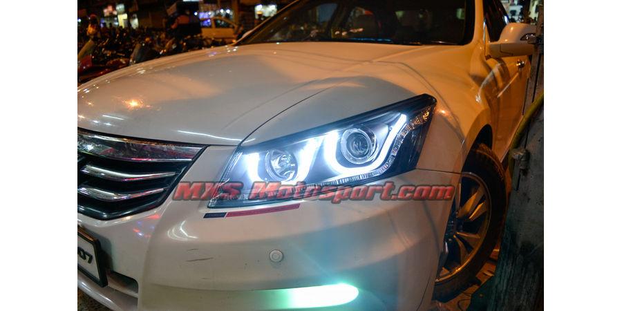 MXSHL09 Honda Accord Type II Projector Headlights Day Running Light