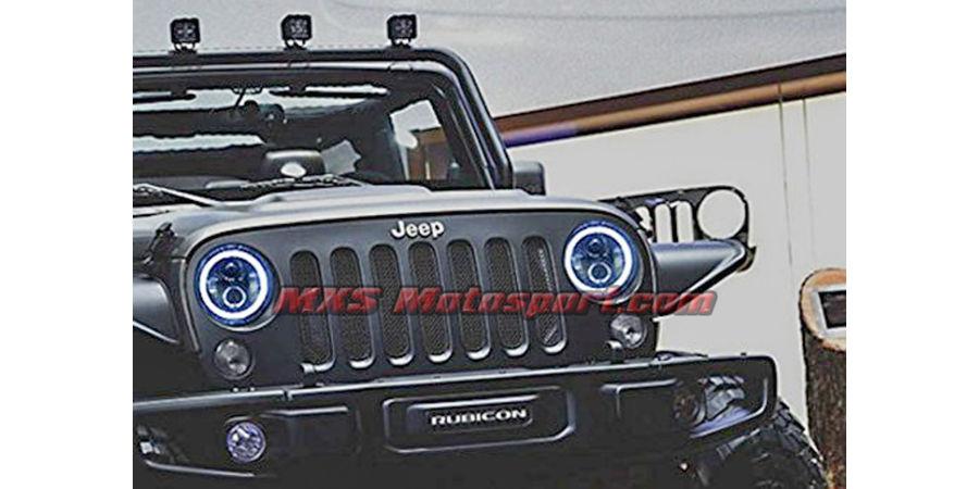 MXSHL39 Tech Hardy Racing Project Bullseye Projector Headlights for Mahindra Thar Jeep