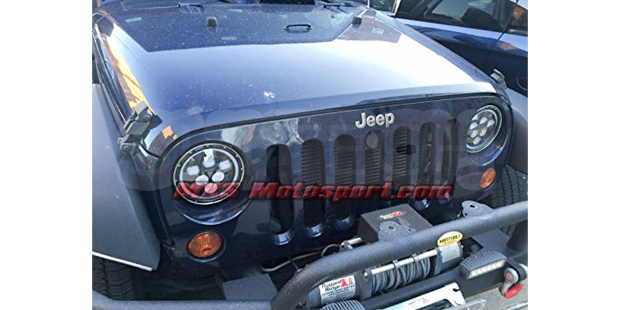 MXSHL95 Tech Hardy Round CREE LED Projector Headlights for Mahindra Thar Jeep