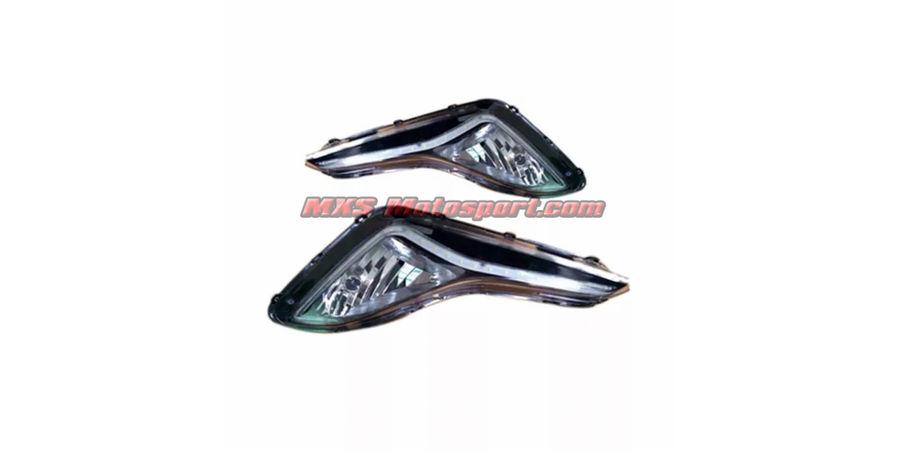 MXS2347 LED Fog Lamps Day Time Running Light Hyundai Elantra