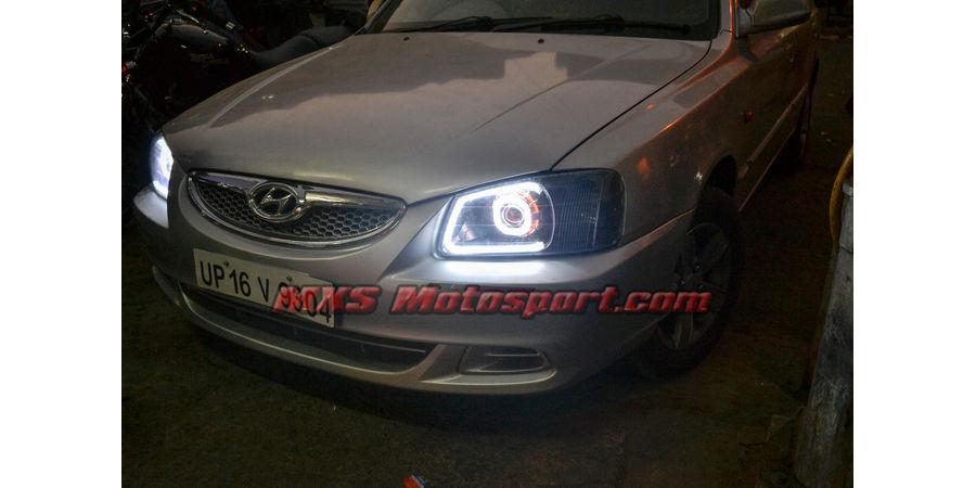 MXSHL384 Projector Headlights Hyundai Accent