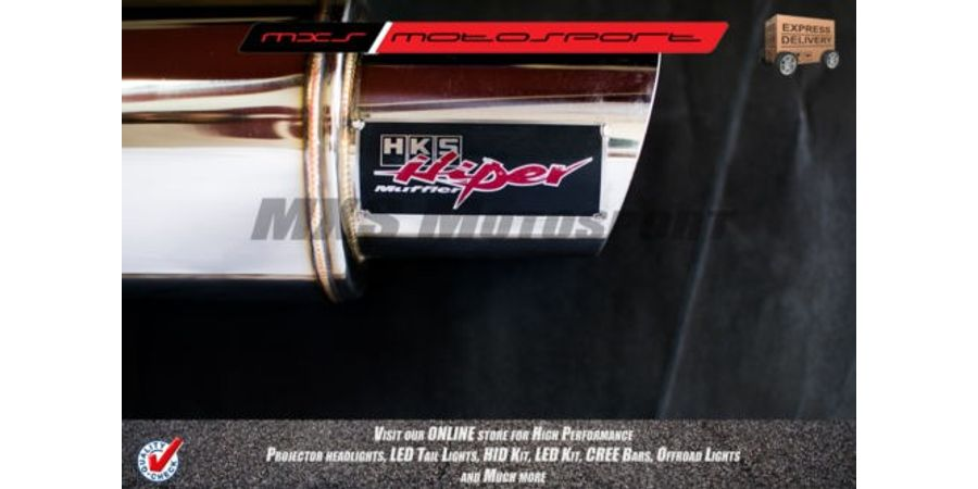 MXS2061 HKS Maruti Alto,K10 Car Exhaust Muffler Silencer, Super Car Like sound