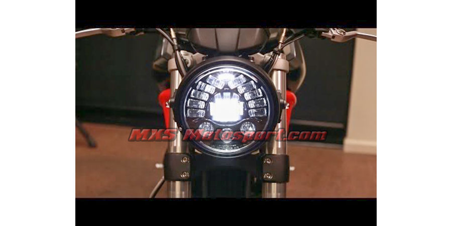 MXSHL405 Tech Hardy Stage  2 Led Adaptive Headlight Ducati Motorcycle