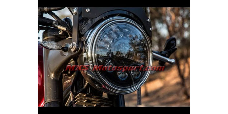 MXSHL421 Tech Hardy Stage  2 Led Adaptive Headlight Royal Enfield Bullet Motorcycle