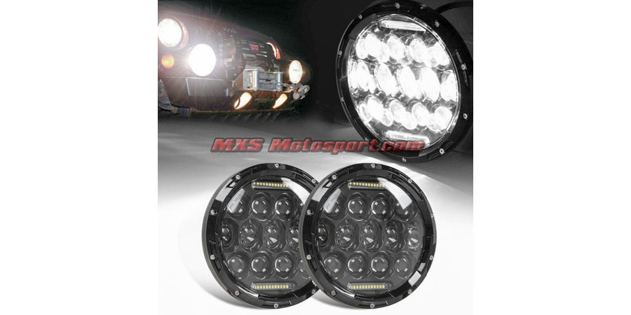 MXSHL272 Tech Hardy Cree Led Projector Headlights Mahindra Thar Jeep Wrangler