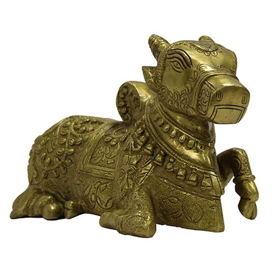 Brass Nandi Bull