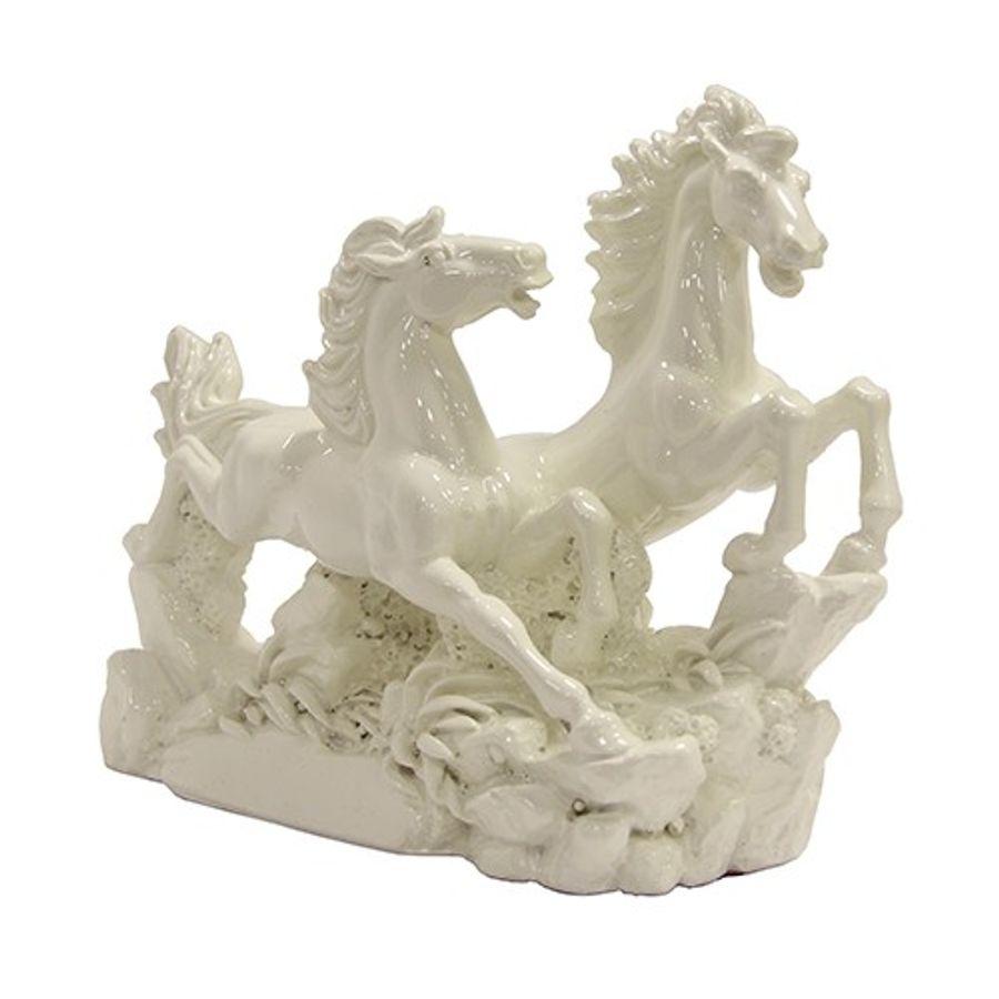 Pair of White Horses