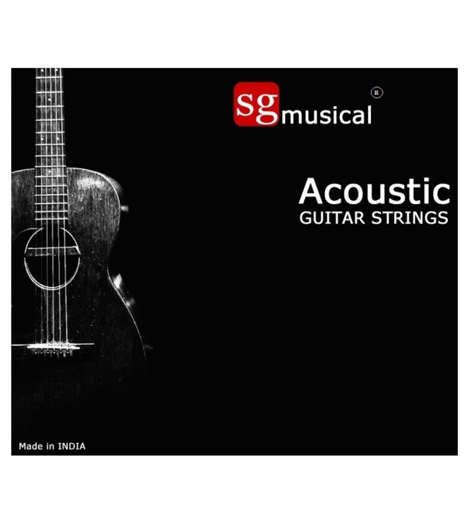 SG Musical Acoustic Guitar Strings - SGMASG01
