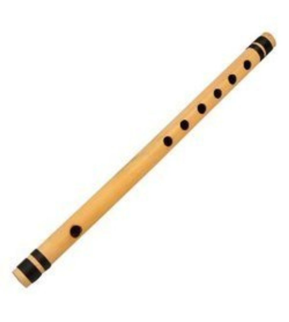 SG Musical concert F scale 28 cm seven holes finest indian bansuri, bamboo flute