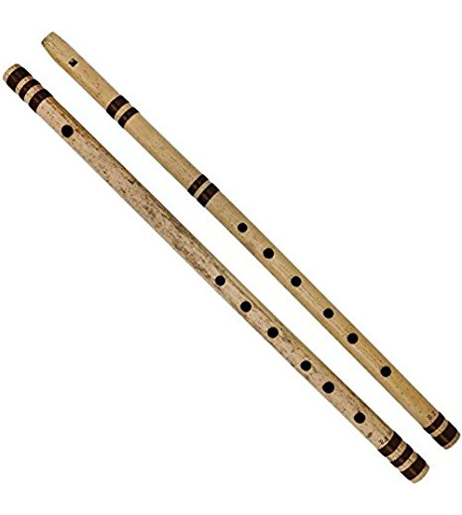 SG Musical Indian Fipple for Masters Bamboo Flute - Side + Straight Combo