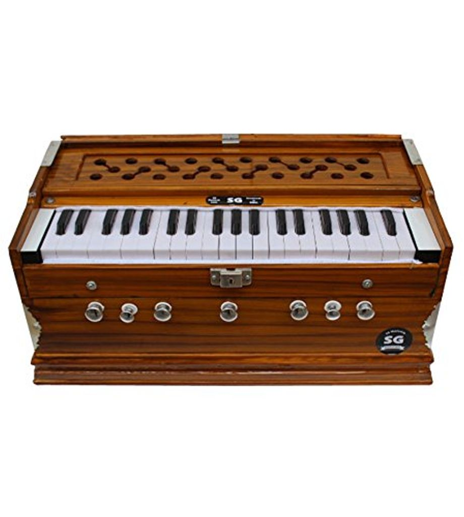 SG Musical - 7 Stopper Harmonium -/Yellow Teak
