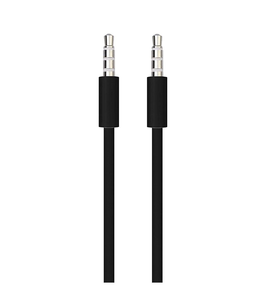 3.5mm AUX Auxiliary Cord Male to Male Stereo Audio Car Home Speaker Cable 3' Feet (black)
