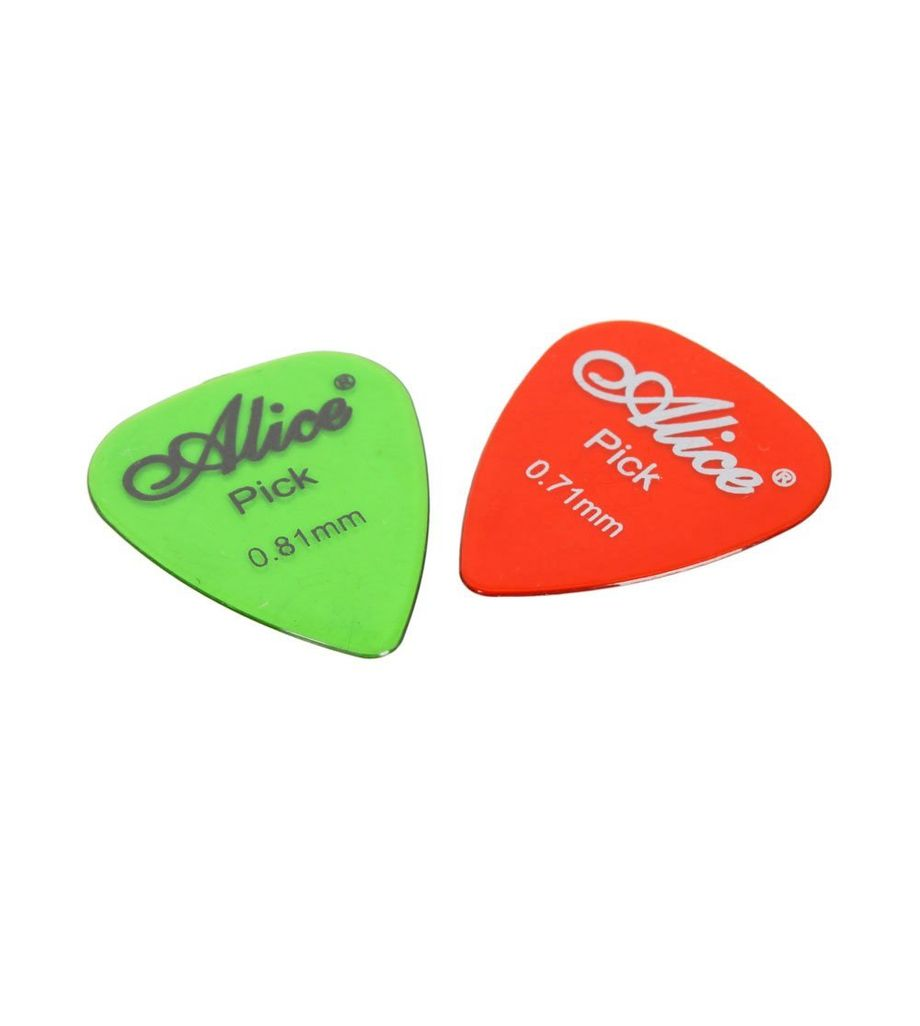 Alice Celluloid Guitar Picks 2pcs